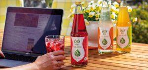 isis Tea Drinks vegane Erfrischungsgetränke mit 0% Zucker