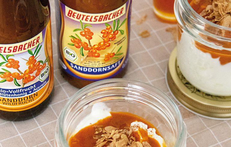 Sanddorn Muttersaft Sanddorn Vollfrucht mit Honig