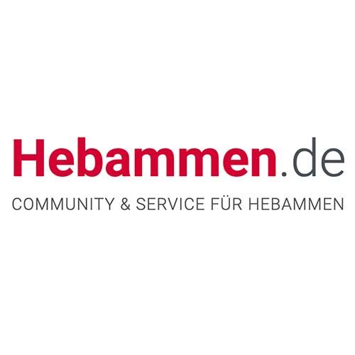 Hebammen de Logo