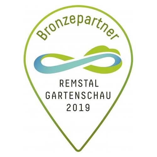 Remstal Gartenschau Bronzepartner Logo