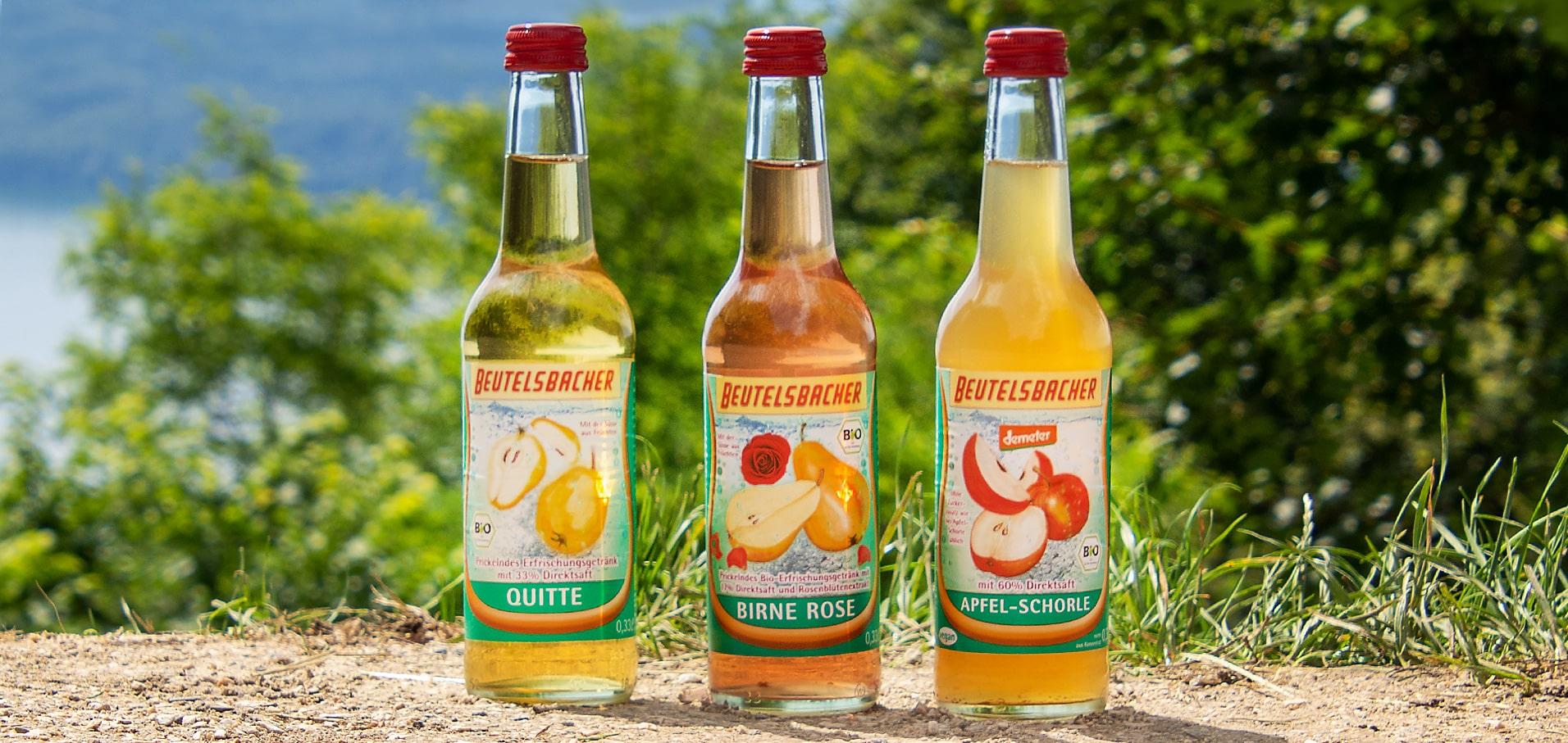 Erfrischung Schorle von Beutelsbacher