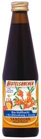Bio, Sanddorn, Vollfrucht, Honig, Beutelsbacher
