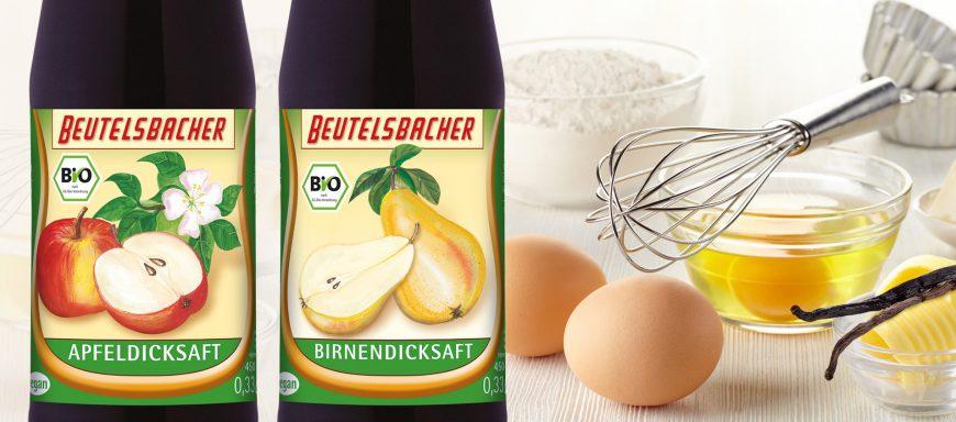 Natürliche Süßungsmittel Bio Apfeldicksaft Birnendicksaft Rezepte Osterbäckerei