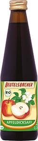 Bio, Apfel, Apfeldicksaft, Dicksaft, Beutelsbacher, vegan