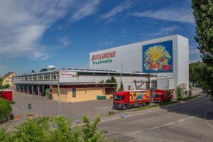 Beutelsbacher Betriebsgelände mit Fabrikverkauf