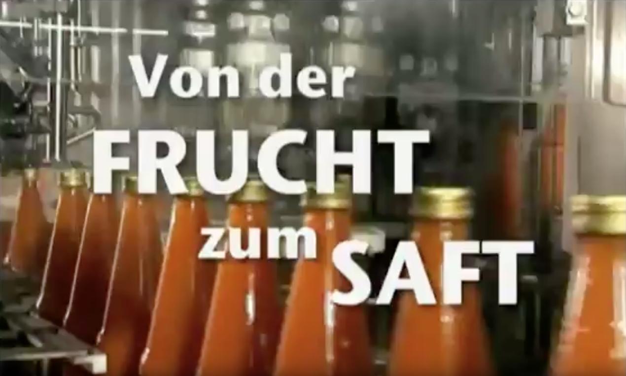 Von der Frucht zum Saft Beutelsbacher